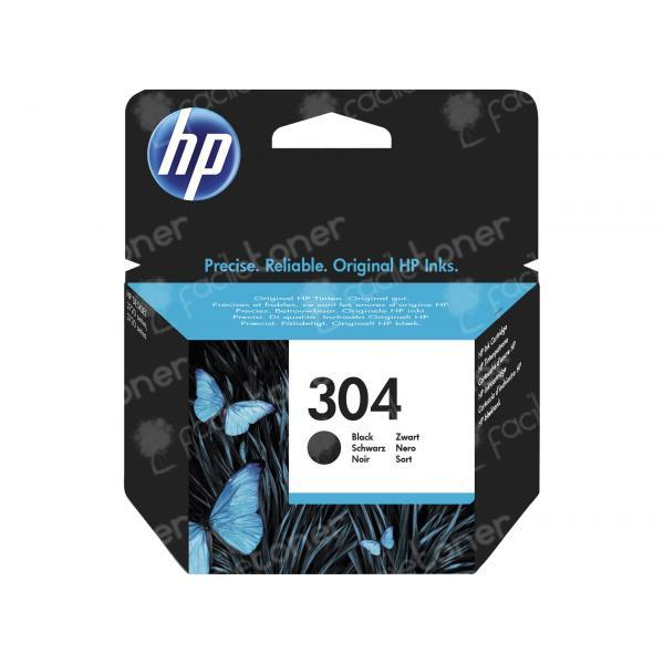 Cartuccia Originale N9K06AE HP 304 BK