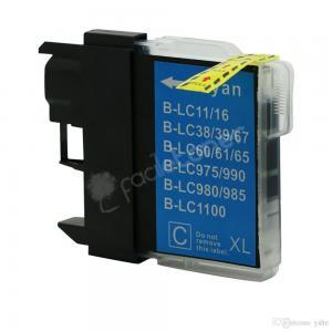 Cartuccia Comp. con BROTHER LC980 LC-1100 Ciano