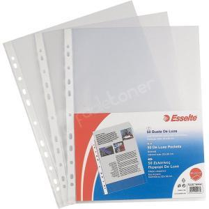 Esselte Office Buste Forate A4 22x30 cm. 50Pz.